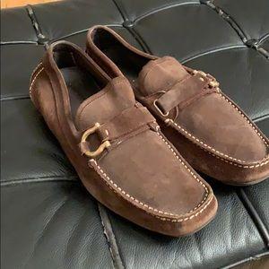 Salvatore Ferragamo Bit Driving Loafers Size 9